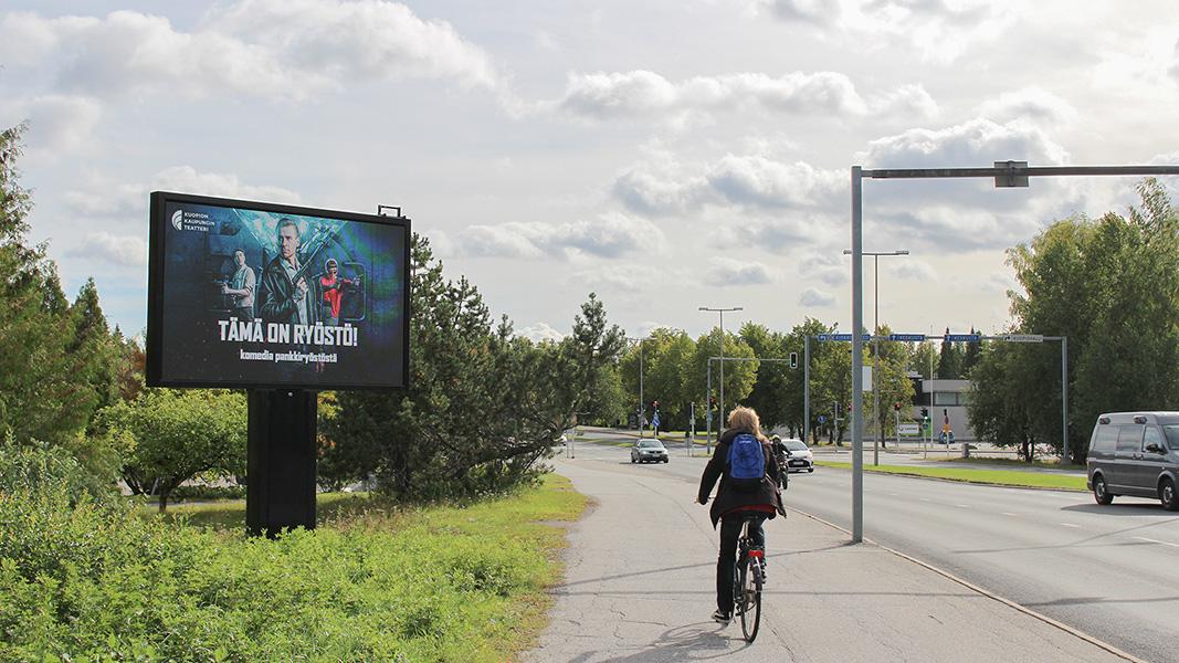Karjalankatu Kuopion Kaupunginteatteri