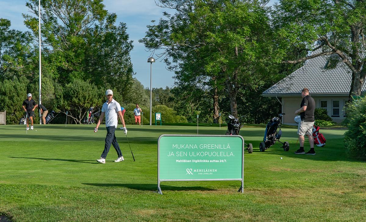 Golfkeskusmainonta