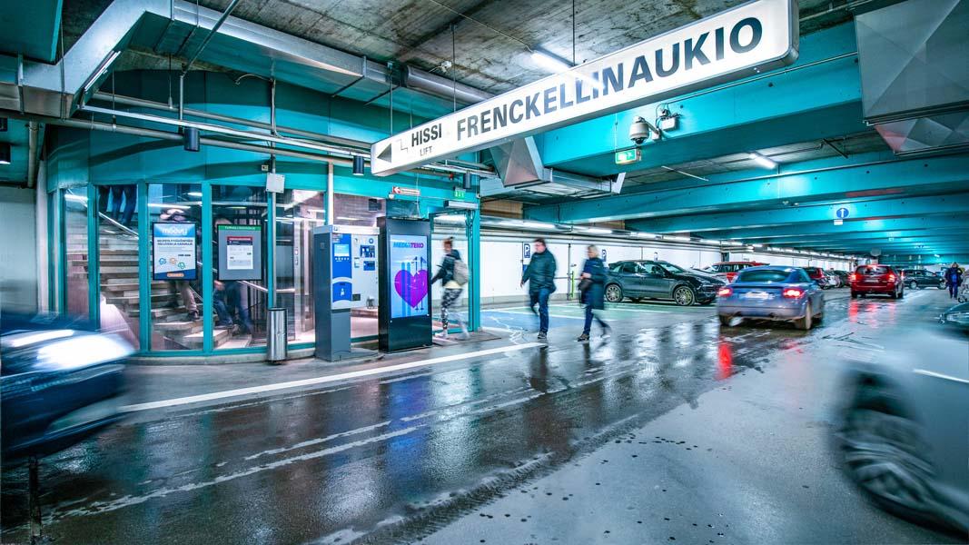 Finnpark Frenckell Diginäyttö Mediateko